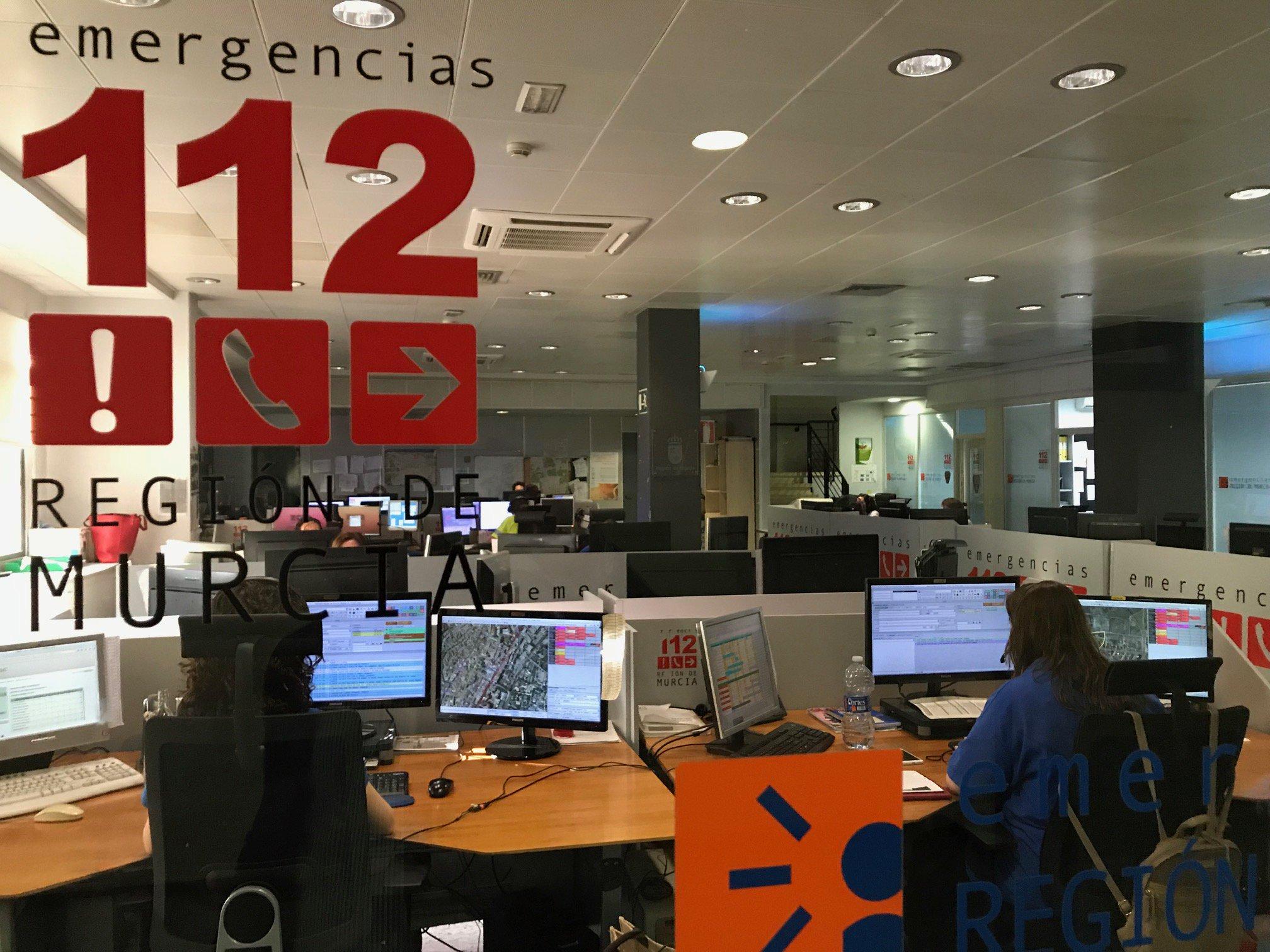 Sala de 112 Región de Murcia