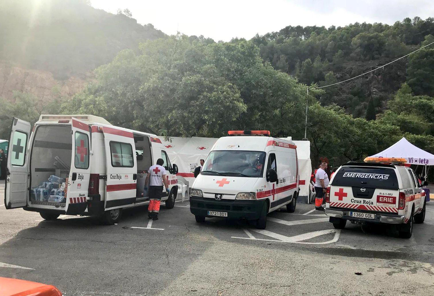 Cruz Roja en la Fuentanta 2018